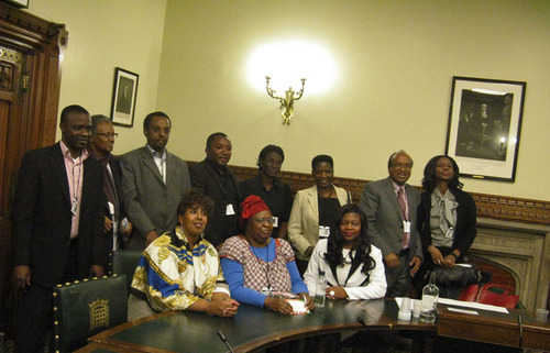 At the 2011 Africa Day conference at the UK Parliament