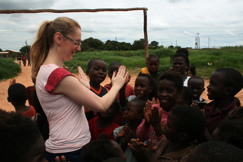 In Zambia with ARK January 2012