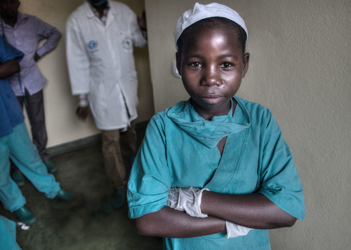 Rosine, 13, Future Surgeon
