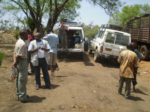 En route to Nimule, South Sudan