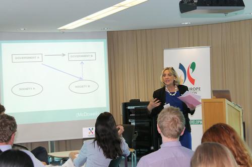 Asia–Europe Foundation (ASEF) training in Geneva