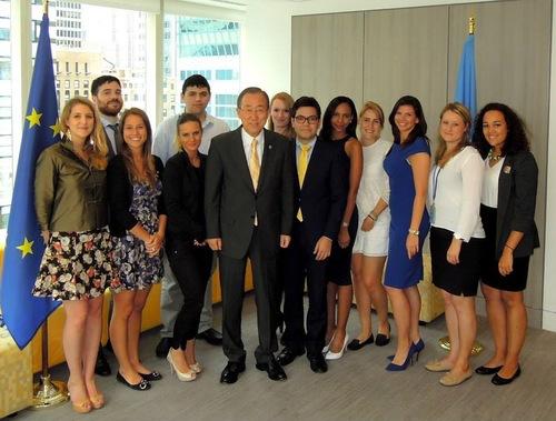 With Ban Ki Moon