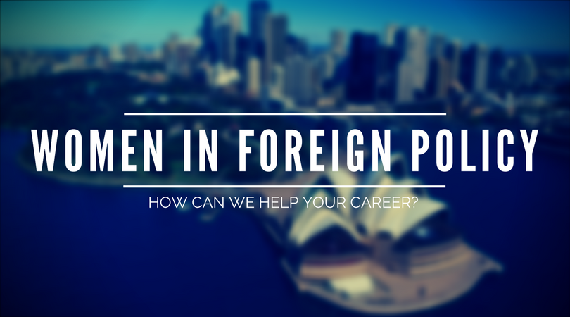 What is Women in Foreign Policy?