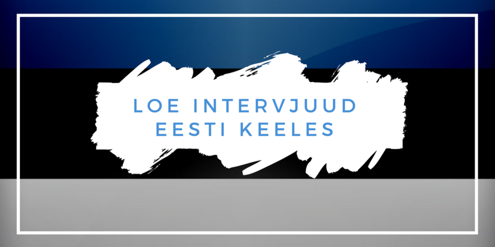 Marina Kaljurand interview in Estonian