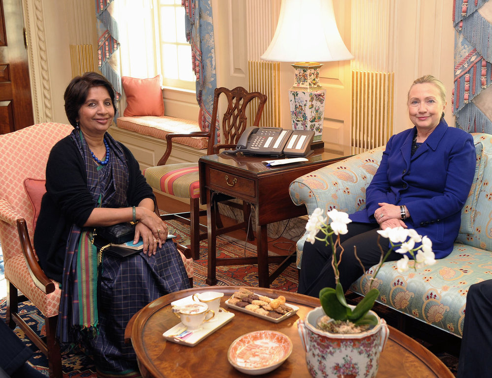 CV IN BRIEF:   Following her retirement from active diplomatic service, Ambassador Rao entered the world of academia with an appointment as the  Meera and Vikram Gandhi Fellow , at the India Initiative at  Brown University .  In 2017, she was a Practitioner-in-Residence of the  Bellagio Center  in Italy. Currently, Ambassador Rao is a  Global Fellow of The Wilson Center . During Fall 2018, Ambassador Rao will teach a course on India-China relations at  Columbia University .  Ambassador Rao holds an honorary Doctor of Letters degree from  Pondicherry University  in India.  Find Ambassador Rao online:  Twitter  |  www.nirupamamenonrao.net    Exclusive interview by Clara Martinez, September 2018