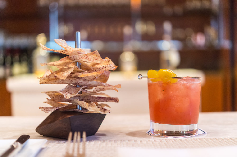 BAR Plantain & Taro Chips with Vermelho Cocktail 2017 1095.jpg