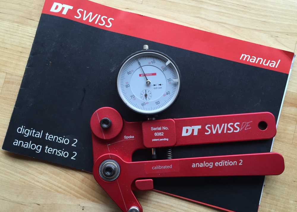 DT Swiss Spoke Tensiometer