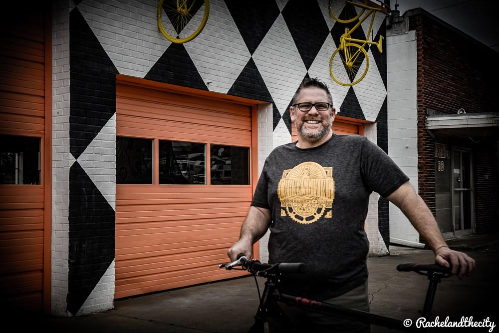 biker Frank Rouse