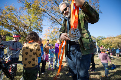 Kids medals cyclocross