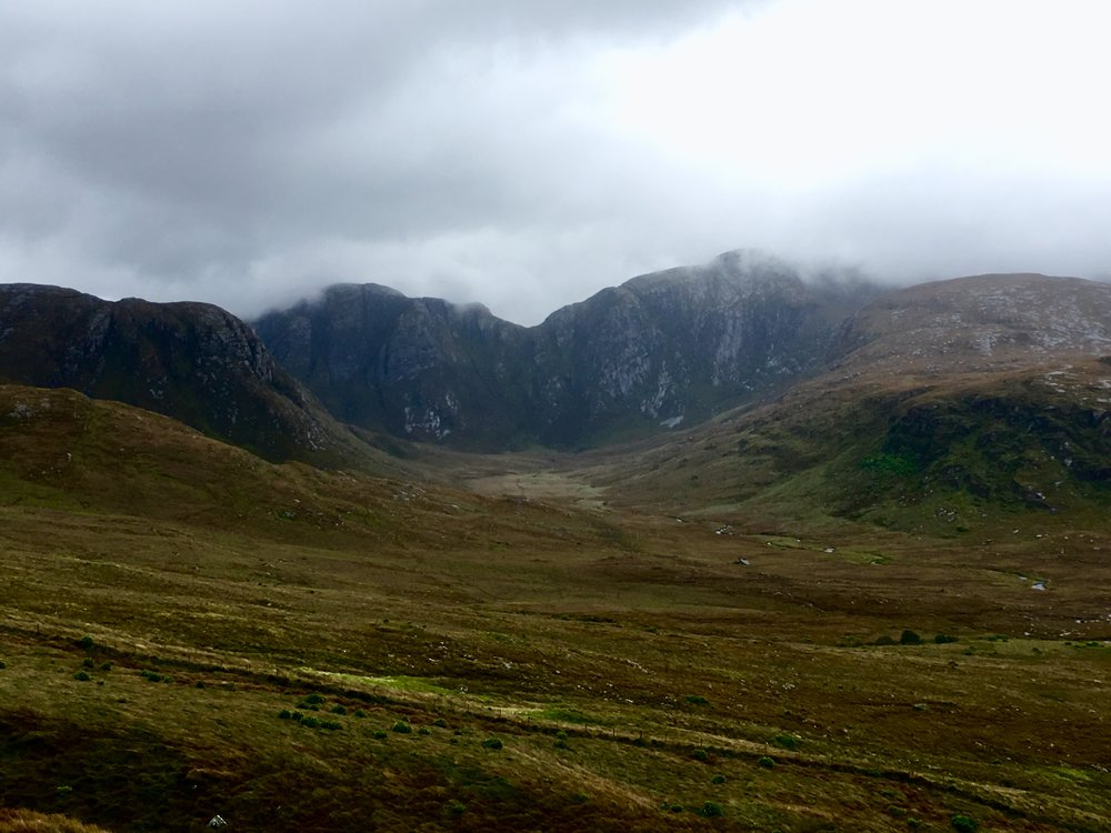 Poison Glen...one of the many sites of raw beauty in Donegal.