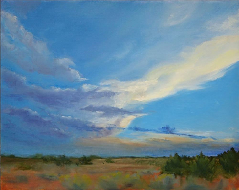 evening storm Kathleen Moore oil 8x10.JPG