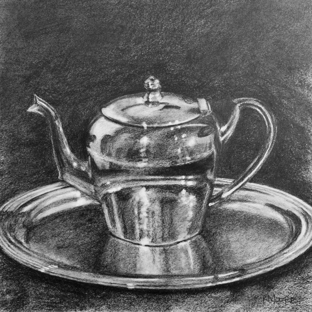 Tea Pot by Kathleen Moore