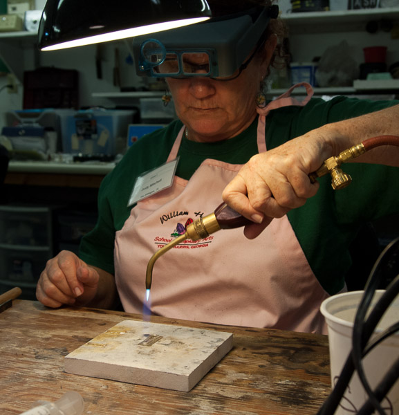 Judy Mitchell Silver Soldering