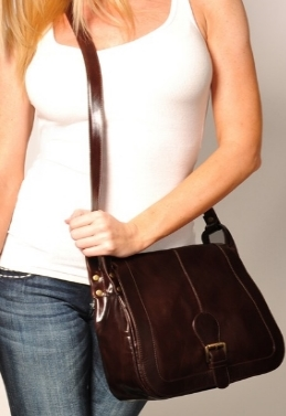 #4  Never cross out the Crossbody!  During the summer months the Crossbody is our best friend and favorite travel companion.  Cute and classic we love it with jeans and a tank!  (The P. Sherrod & Co. Parker Crossbody)