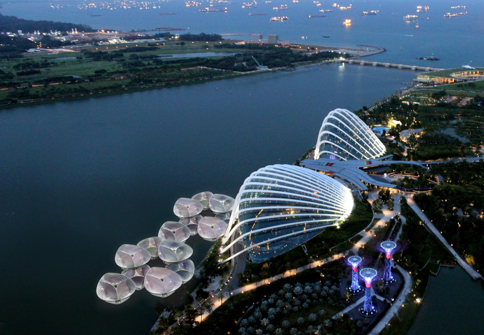 SPARK Plans Sustainable Floating Hawker For Singapore