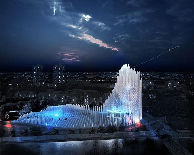 Lissoni Architettura proposes a new museum of language that interacts with its visitors. Visit www.architectureforfuture.com