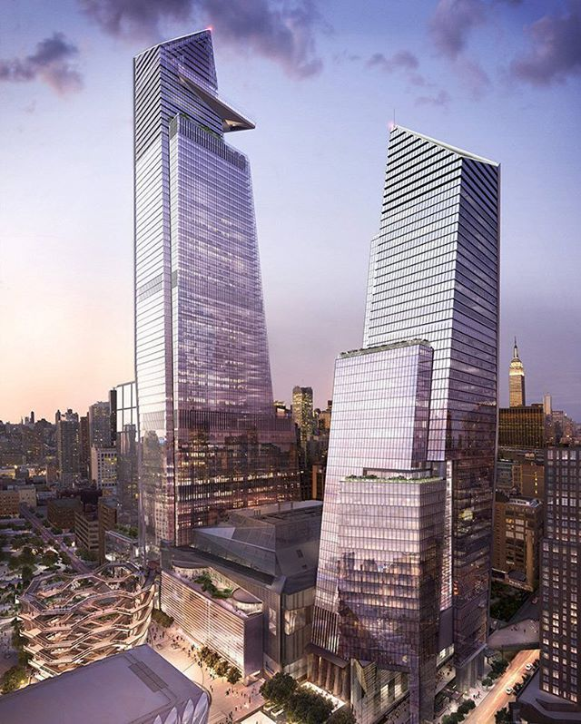 30 Hudson Yards: New York neigbourhood's tallest tower tops out. www.architectureforfuture.com
