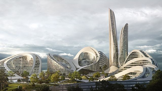 Zaha Hadid Architects chosen to build entirely new smart city near Mosco. Visit www.architectureforfuture.com