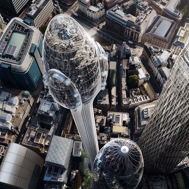 Foster + Partners unveils 'The Tulip', a visitor attraction planned for London. www.architectureforfuture.com