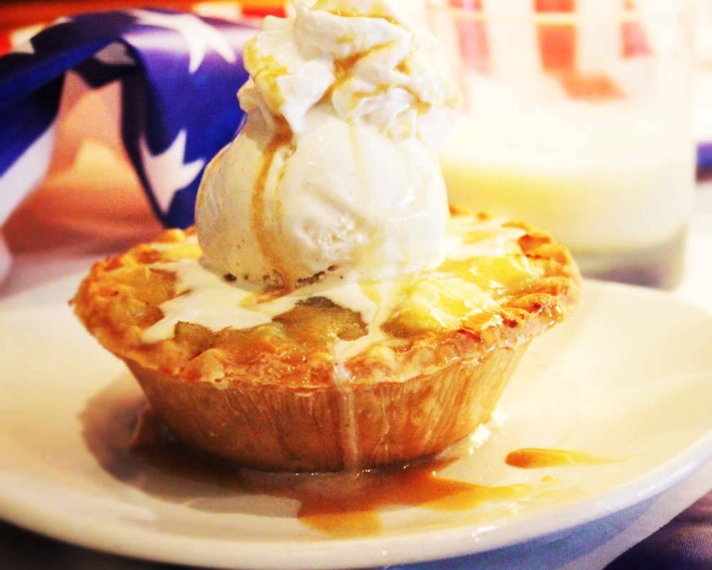 $6 Apple Pie A La Mode & Cinnamon Pie Shot!