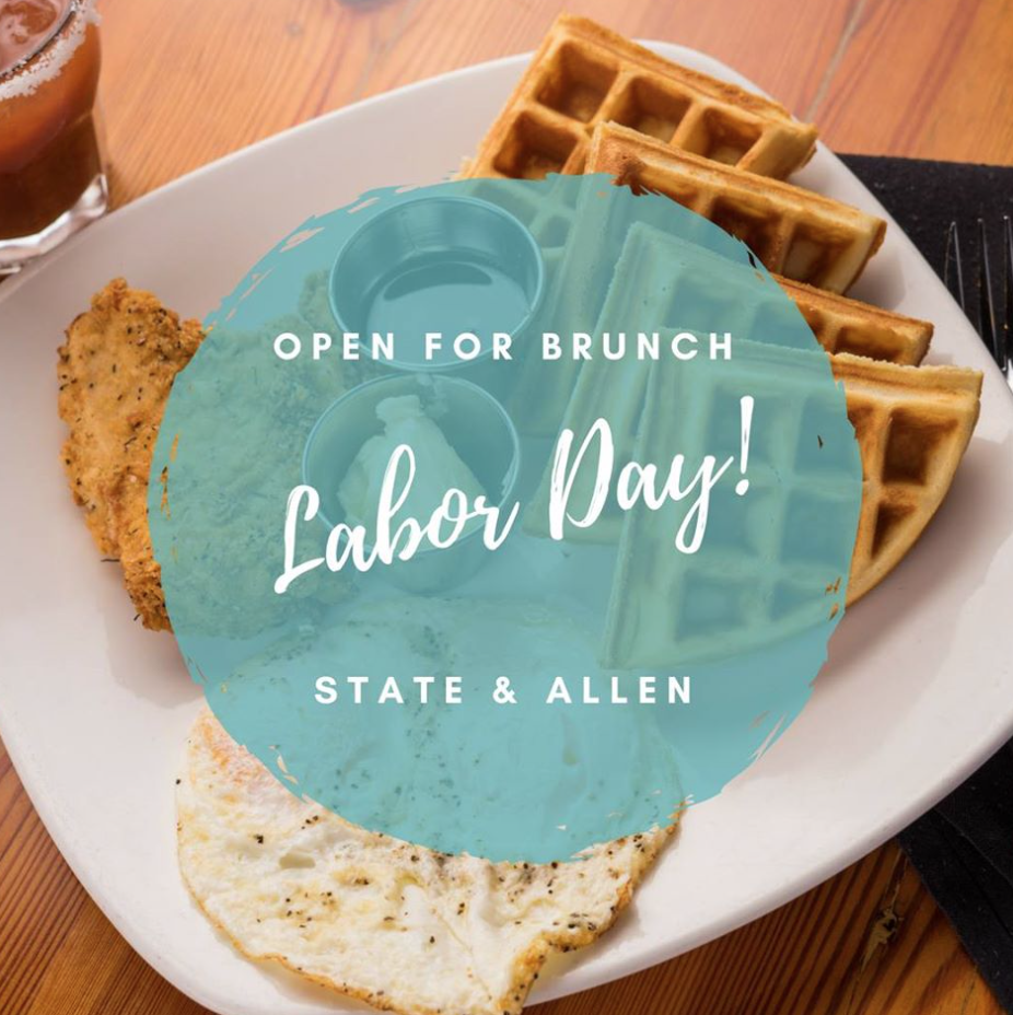 Labor Day Brunch dallas texas state and allen
