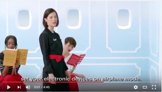 10 airline safety videos