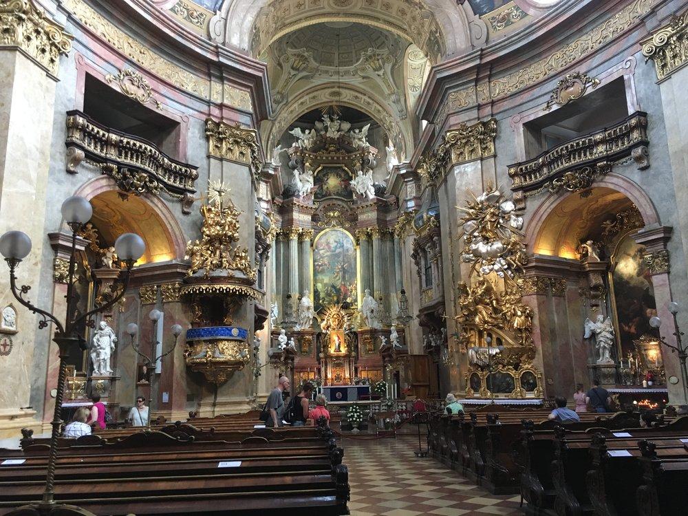 A cathedral in Vienna, Austria