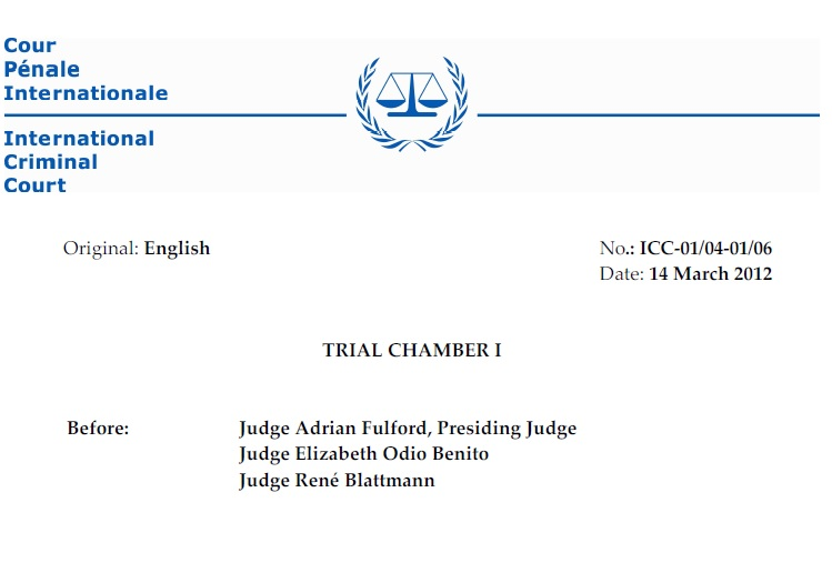 International Criminal Court cases