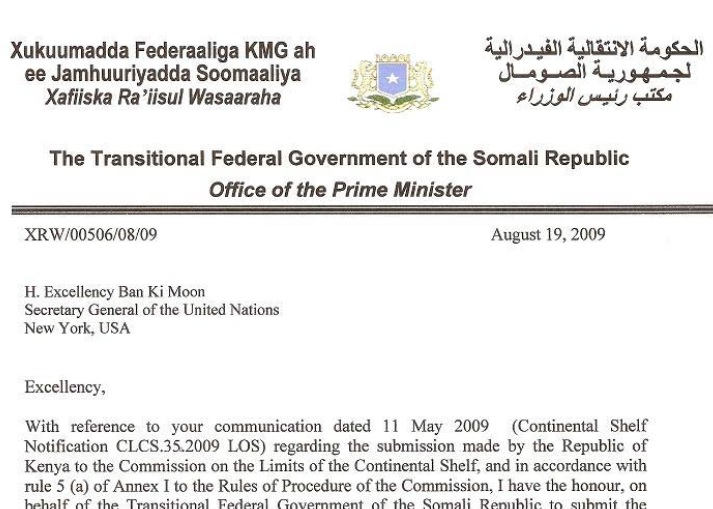 Maritime dispute: Somalia v. Kenya