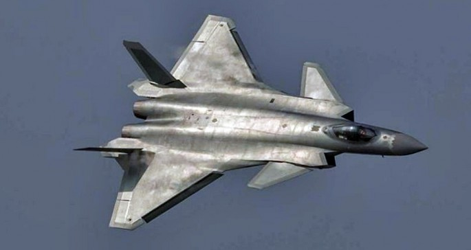Chengdu J-20. Photo: PLAAF