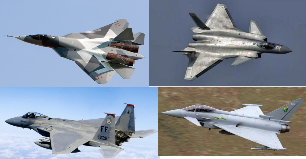 Air superiority combat aircraft