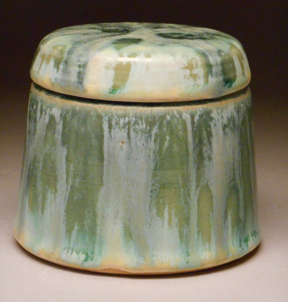 Teal French Butter Dish
