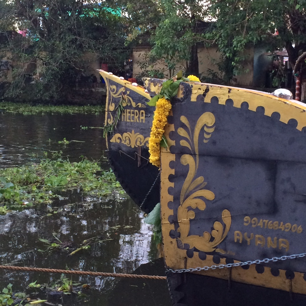 Backwater Canal, Alleppey, Kerala