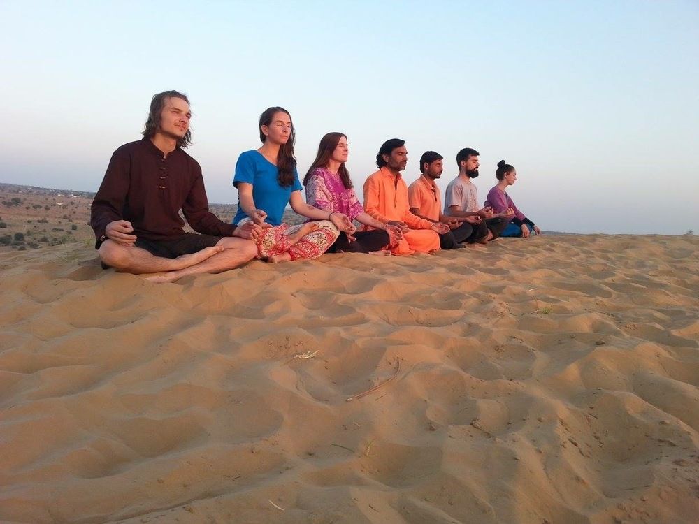 Proof that we do actually  meditate.