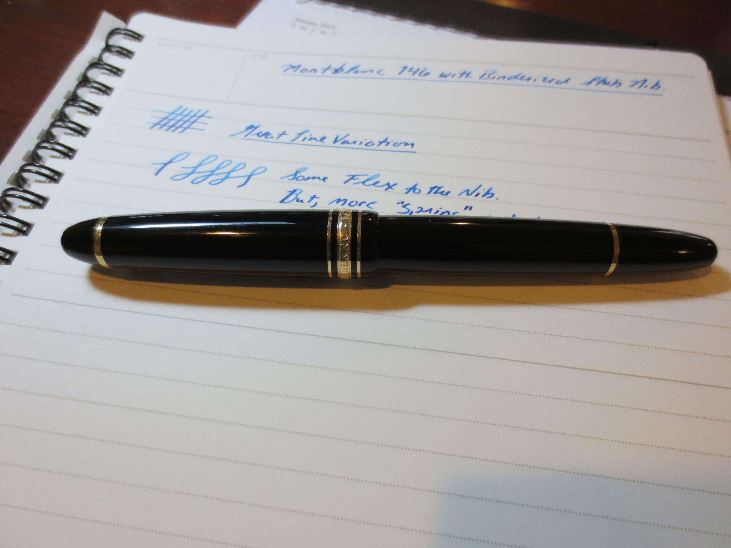 Pen Review MontBlanc Meisterstuck 146 The Gentleman Stationer