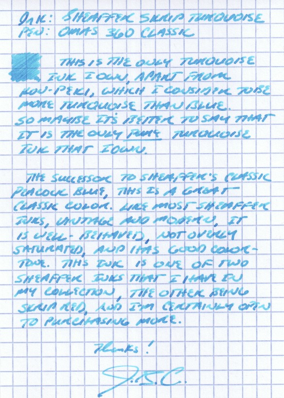 Handwritten Review
