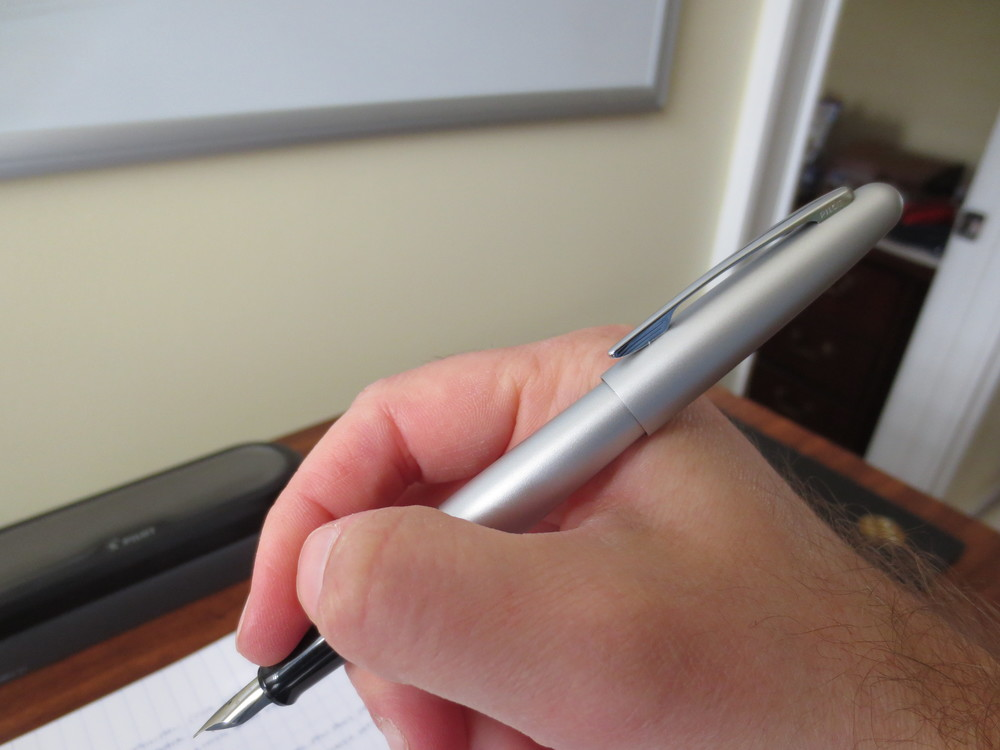 The Pilot Metropolitan is a classic-looking pen that performs well as a daily user.