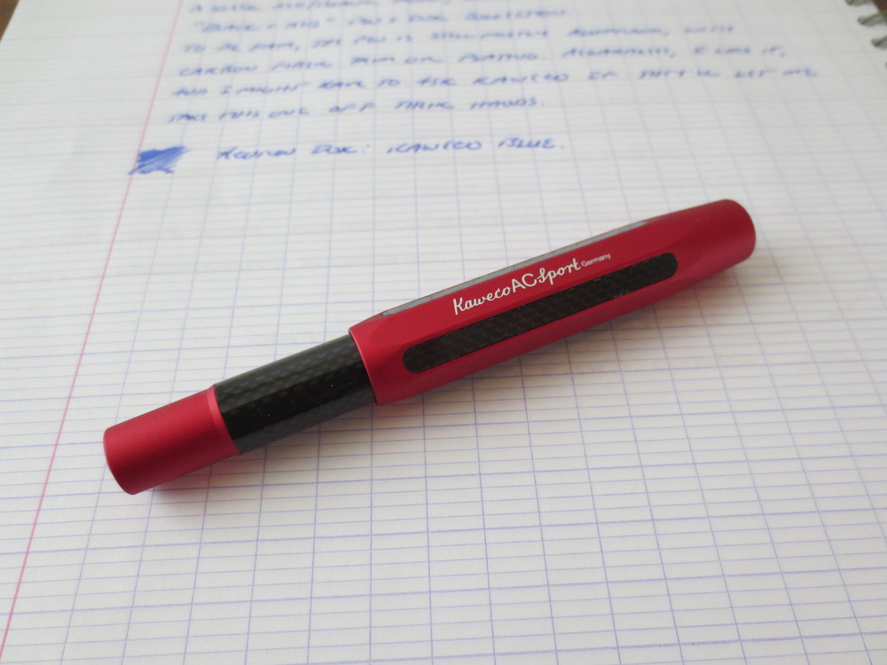 Kaweco AC Sport Fountain Pen Red Black