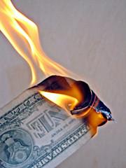 Burning Money Sunday Reading