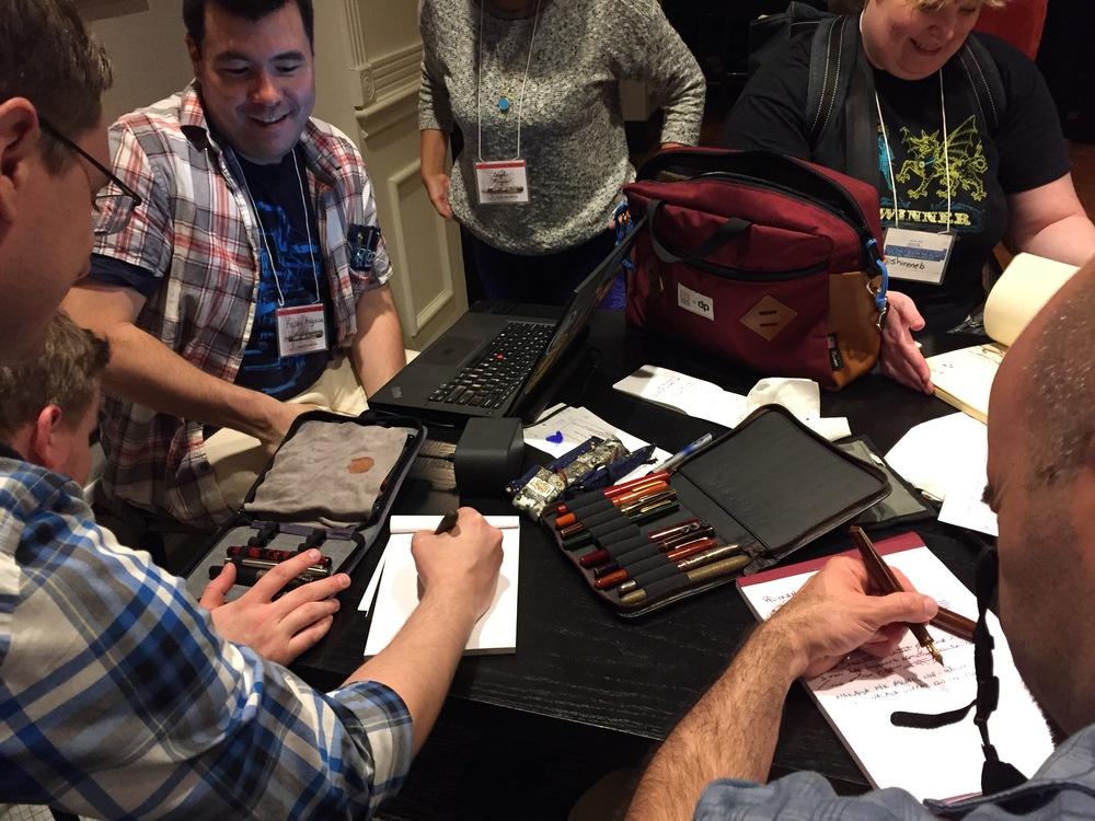 Pen Swap Atlanta 2015
