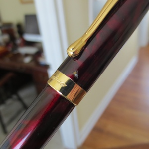 The Jinhao X450:  one of the most commonly available eBay fountain pens .