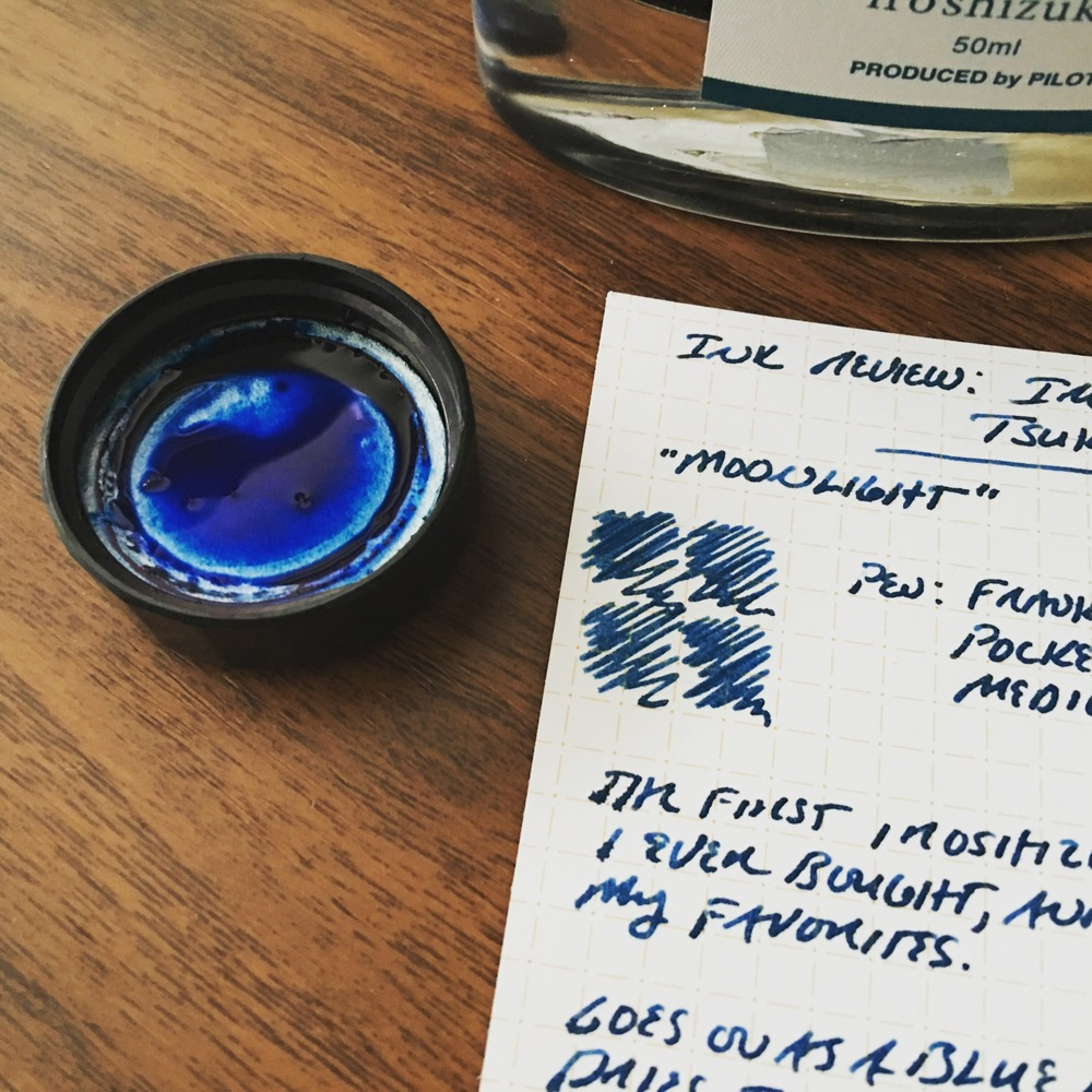 Ink and paper form the lifeblood of the fountain pen hobby.  Sometimes I think I'm in this for the limitless rainbow of ink as I am for the pens.