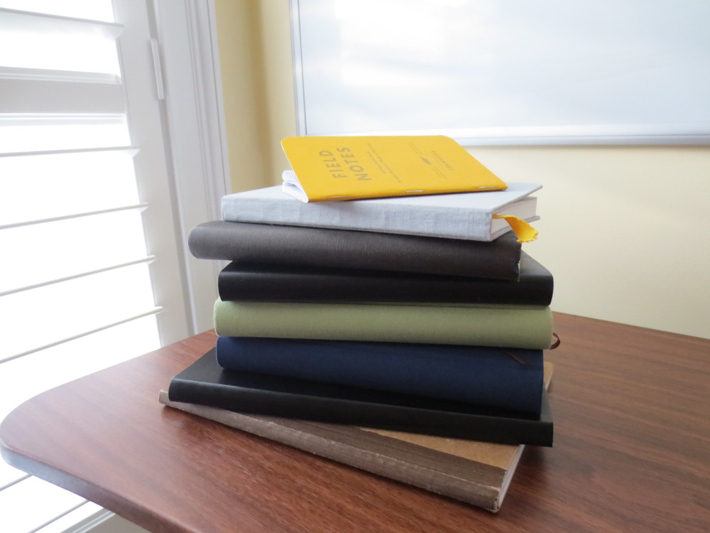Figure out a way to put those stacks of unused journals and notebooks to good use!