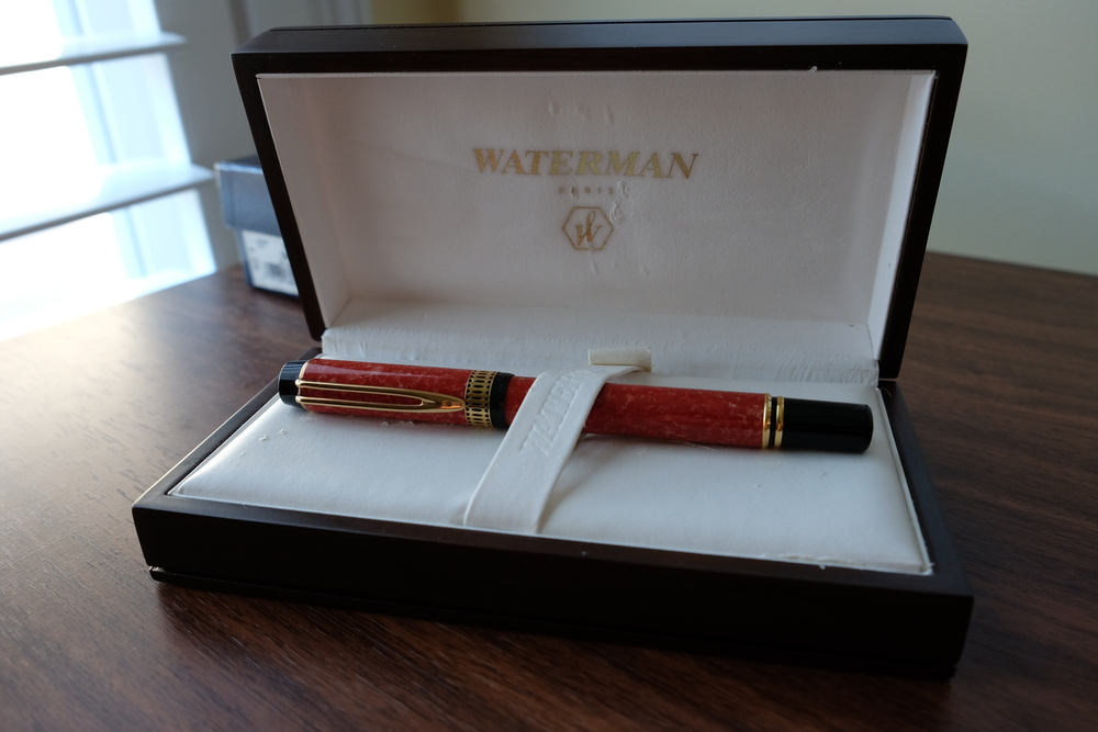 Waterman Man 100 Patrician in its original box.