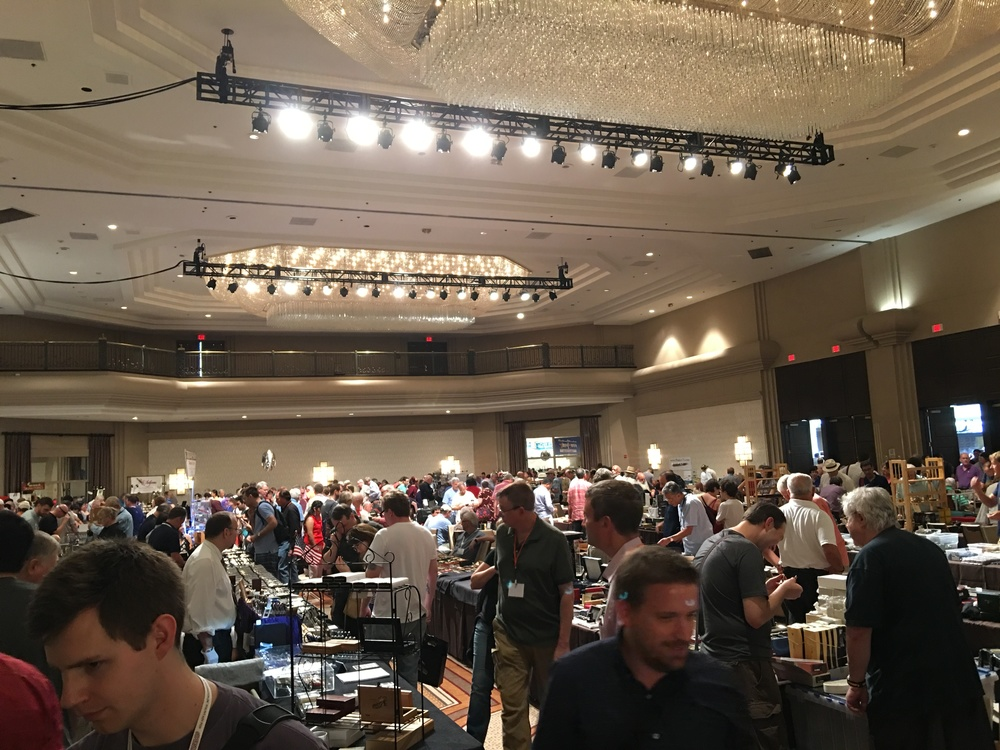 Check out everyone's recaps from last week's successful - and very busy - DC Pen Show!
