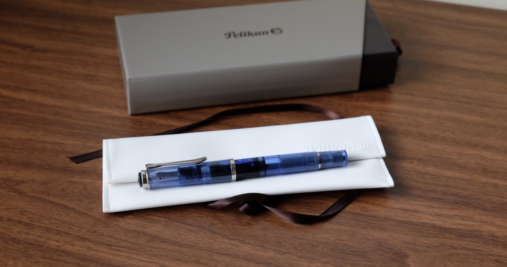 My favorite of this year's Pelikan Special Editions is the reissued M205 Transparent Blue Demonstrator.