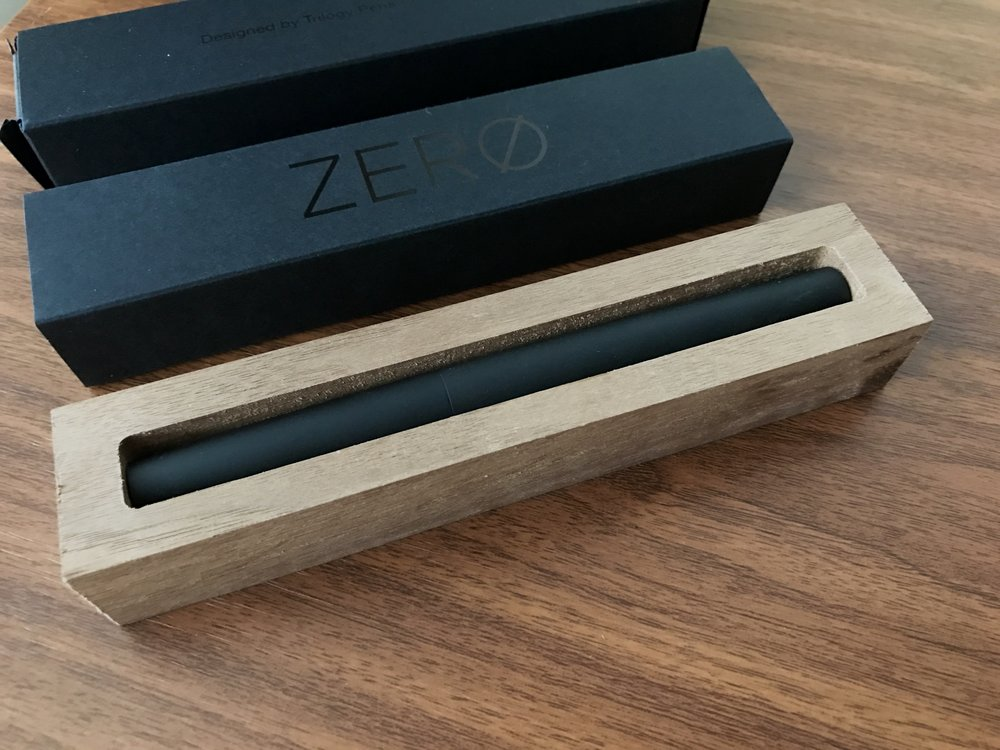 Trilogy Wood Pen Rest, with Zero