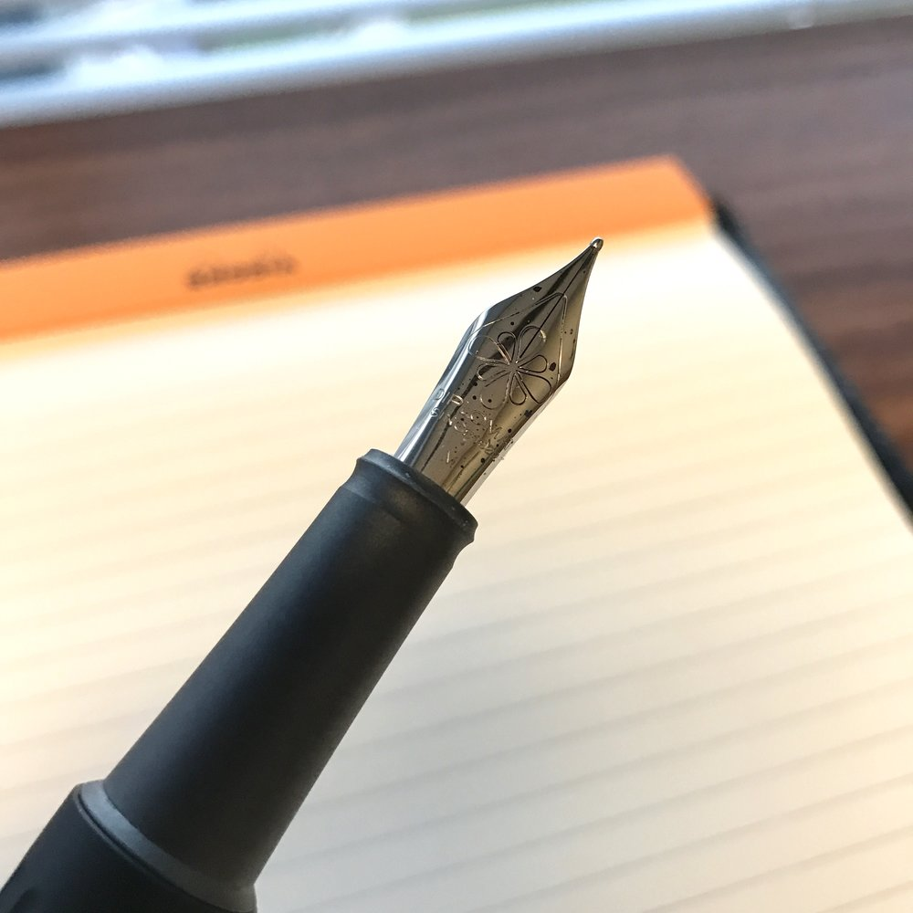 Diplomat-branded JoWo medium nib.