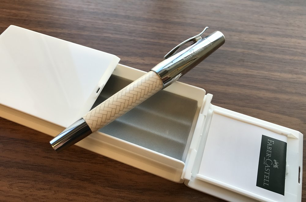 ae83538a67 Pen Review: Faber-Castell E-Motion — The Gentleman Stationer