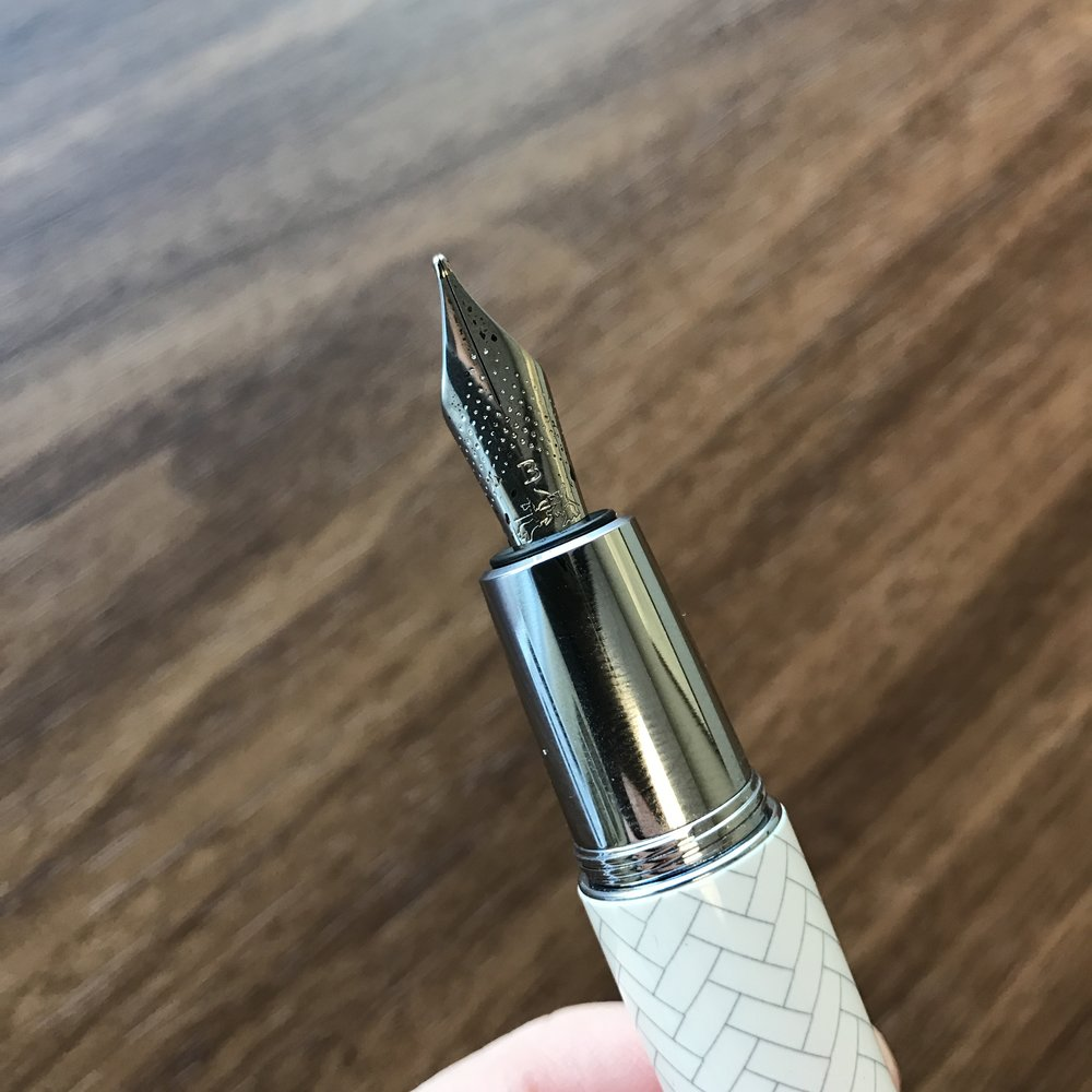 Faber-Castell steel nibs are made by either Bock or JoWo - I've heard conflicting reports. Either way, they are excellent writers.
